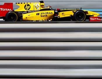 F1 robert kubica renault