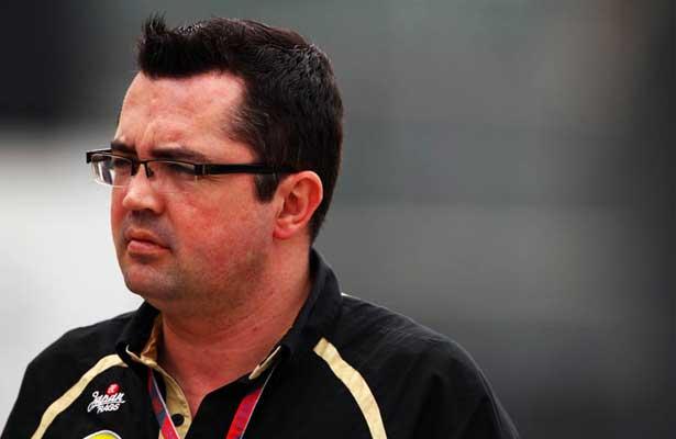 Eric Boullier - chefe de equipe da Lotus