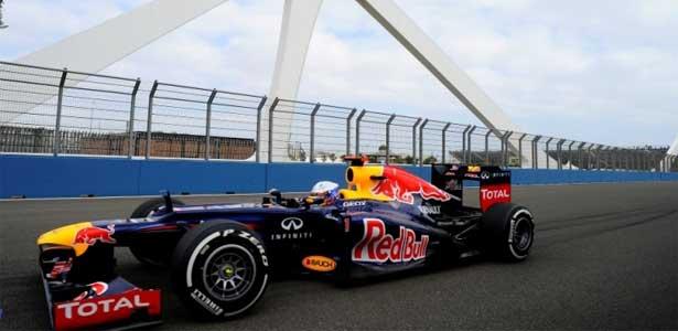 Sebastian Vettel - GP da Europa em Valencia 2012