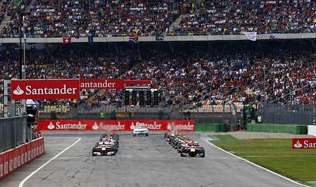 F1 – Veja o grid de Hockenheim com as punições