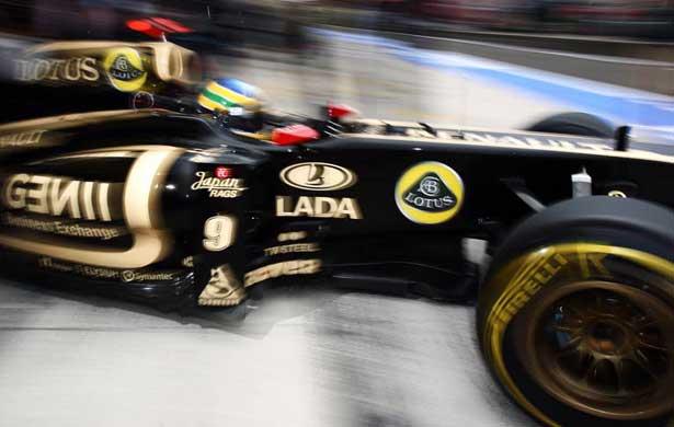 Bruno Senna na Hungria 2011