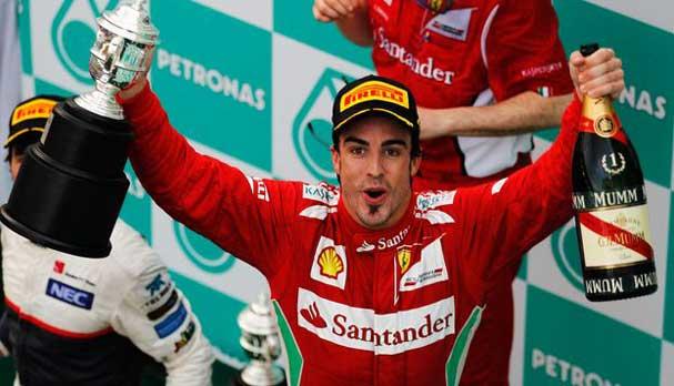 Alonso vence GP da Malásia de F1 2012