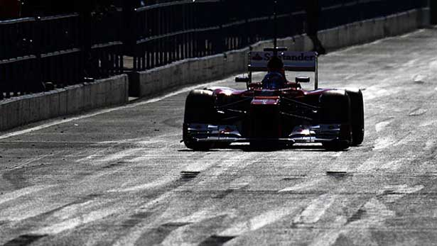 Ferrari em Jerez 2012