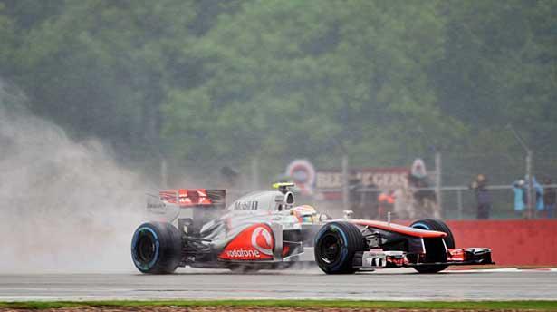 Hamilton - Silverstone TL2 - 2012