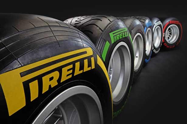 Pneus da Formula 1 - 2012