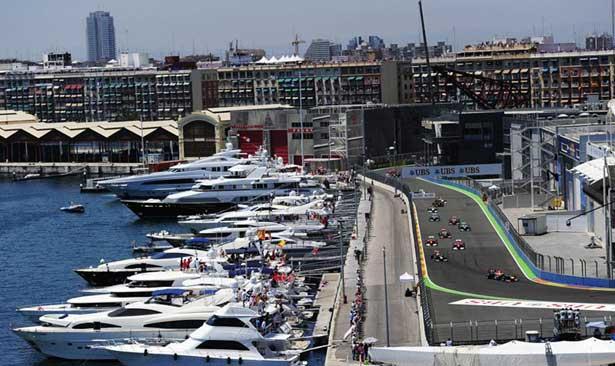 GP da Europa em Valencia 2011