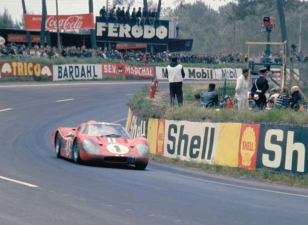 Ford GT40 Mark IV-1967 em Le Mans