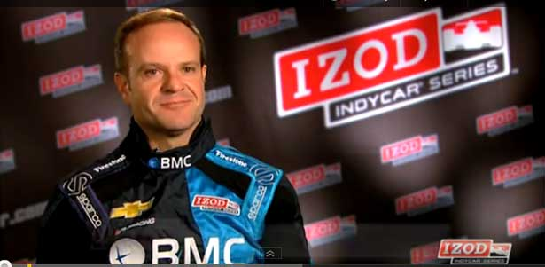 Rubens Barrichello - Formula Indy 2012
