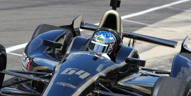 Jean Alesi em Indianapolis - Lotus 2012