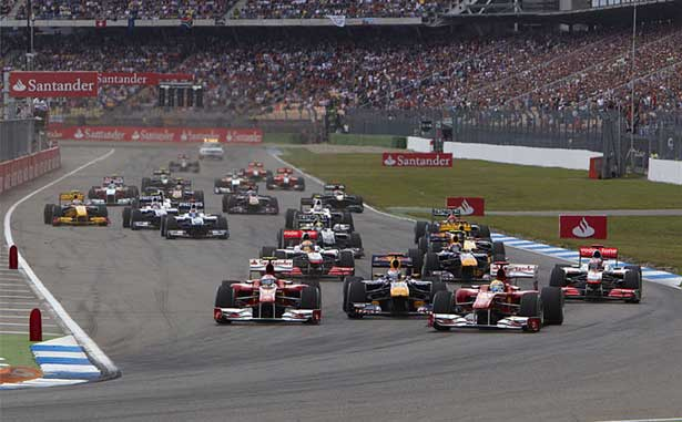 GP da Alemanha em Hockenheim 2010