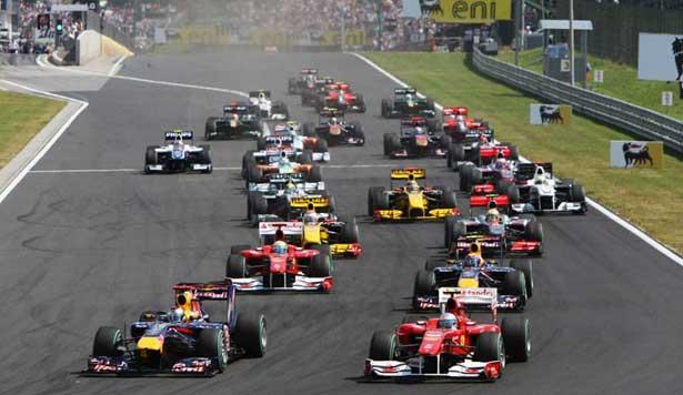 Largada em Hungaroring 2010