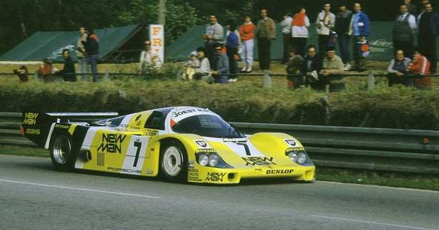 Ayrton Senna em Le Mans