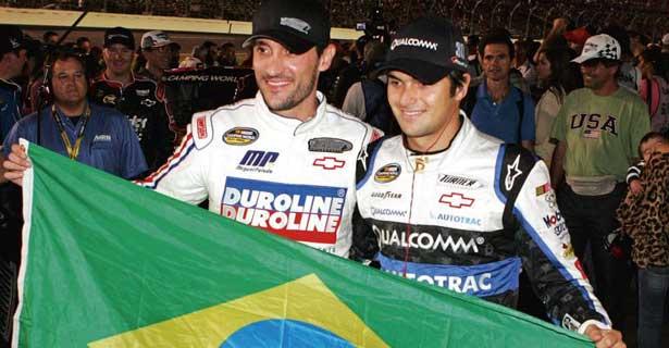 Miguel Paludo e Nelsinho Piquet - Brasil na NASCAR