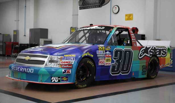 Truck de Nelsinho Piquet para Charlotte