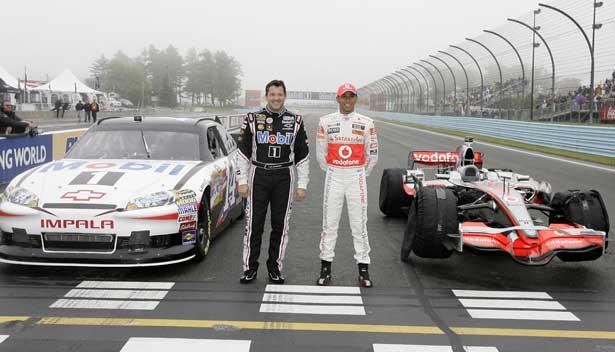 Lewis Hamilton x Tony Stewart