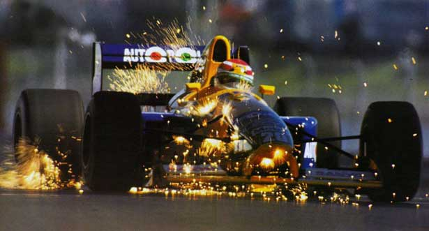 Piquet na Benetton - 1991