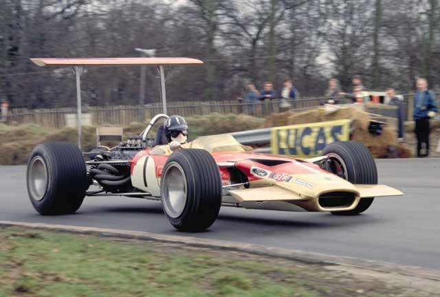 Lotus (clássica), equipe histórica de Formula 1 de 1969 - by autoracing.com