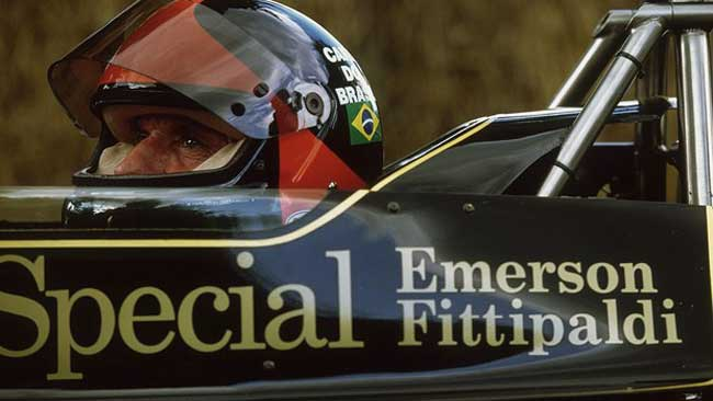 Emerson Fittipaldi - Lotus JPS