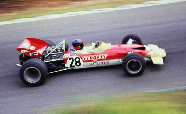 Emerson no ano de estreia - Lotus 49C