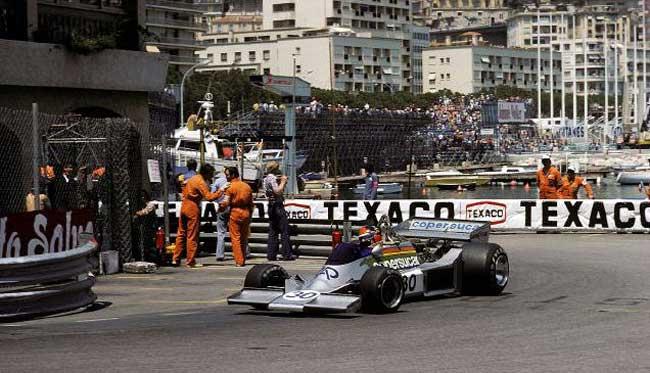 Emerson com o Copersucar em Mônaco - 1976