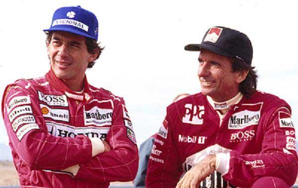 Emerson quase levou Senna para a Indy em 1993