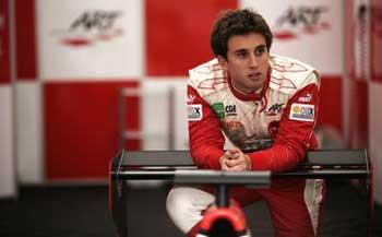 Pedro Nunes a GP3 em 2011