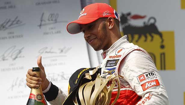 Lewis Hamilton - McLaren 2012