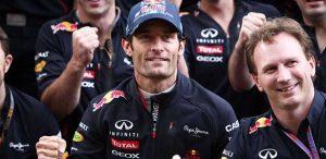 F1  Mark Webber e Christian Horner