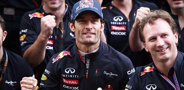 F1 Mark Webber - Red Bull 2012