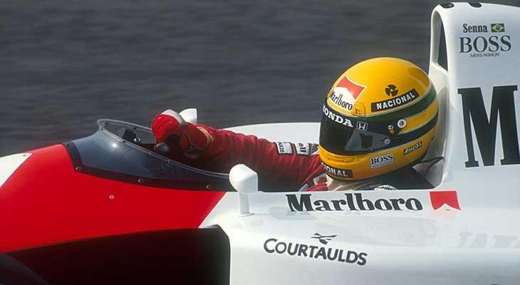 Senna na McLaren