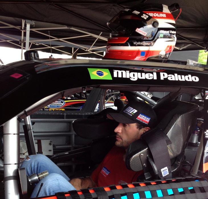 Miguel Paludo na Nationwide Series