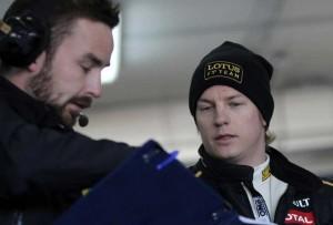 Alan Permane e Kimi Raikkonen - Lotus F1 2012