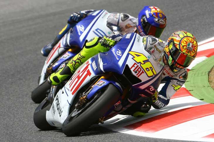 Valentino Rossi na Yamaha
