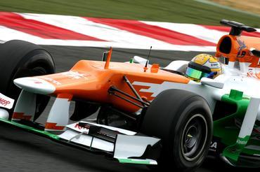 Luiz Razia na F1