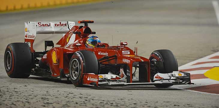 F1 – Comentários pós corrida – Ferrari – GP de Cingapura 2012