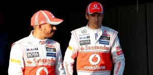 F1 - Lewis Hamilton e Jenson Button