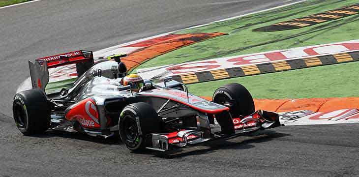 Lewis Hamilton vence Monza 2012