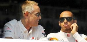 Martin Whitmarsh e Lewis Hamilton