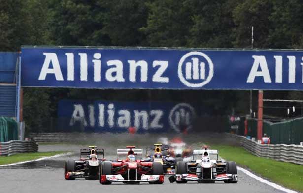 GP da Bélgica em Spa-Francorchamps