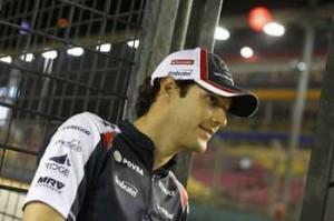 Bruno Senna em Cingapura