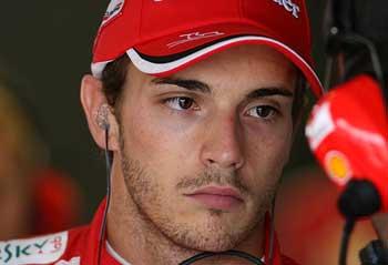 Jules Bianchi - Ferrari 2012