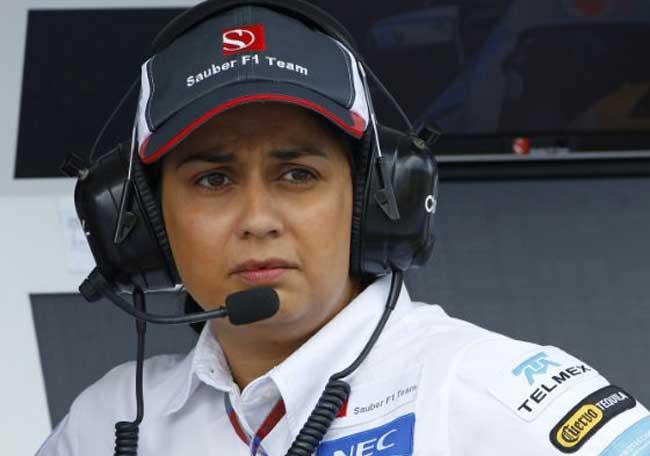 Monisha Kaltenborn F1 Sauber