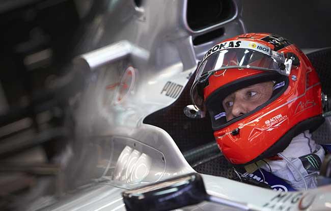 Michael Schumacher em Cingapura 2012