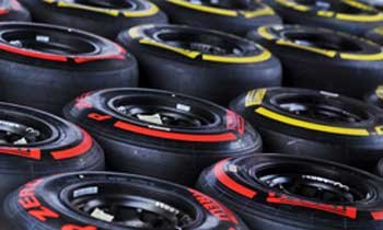 Pneus Pirelli de Formula 1