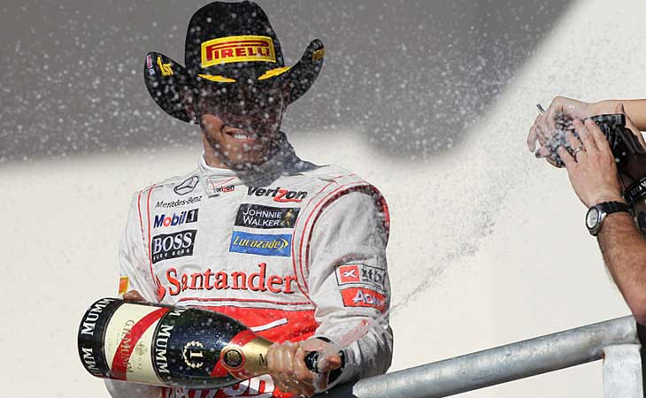 Lewis Hamilton - GP dos EUA 2012