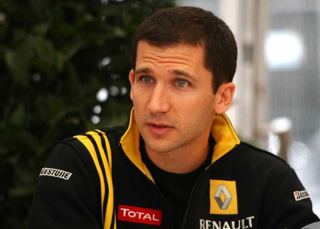 Remi Taffin Renault F1