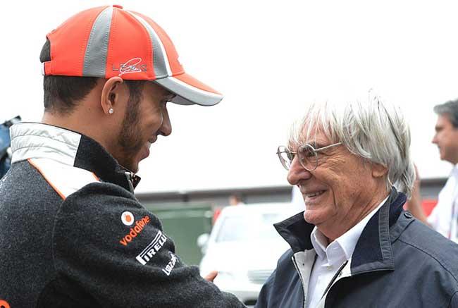 F1 – Ecclestone: Hamilton seria um campeão melhor para o esporte