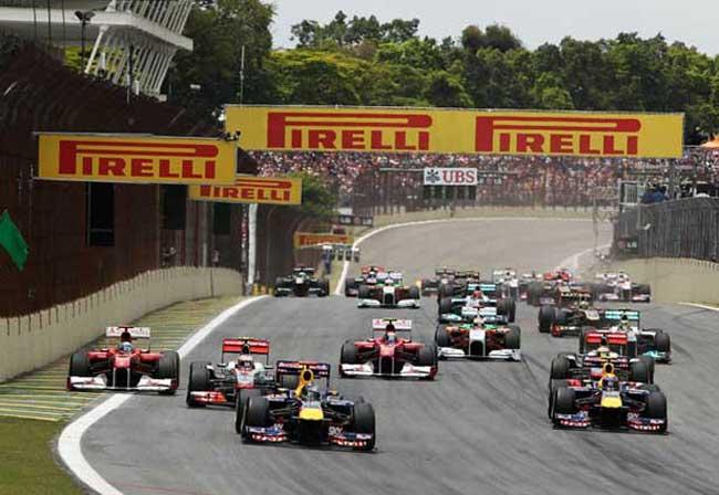 Largada GP do Brasil 2011