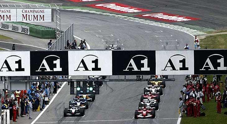 Largada de Formula 1 - by autoracing.com.br