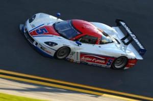 Corvette DP #5 durante o classificatório